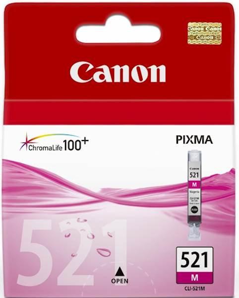 ČRNILO CANON CLI-521 MAGENTA ZA IP3600/4600/MP540/MP620 ZA 9ml