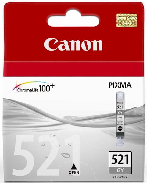 ČRNILO CANON CLI-521 SIVO ZA IP3600/4600/MP540/MP620 ZA 9ml