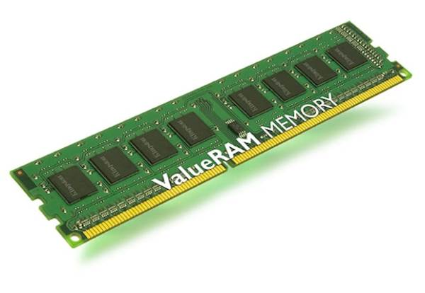 RAM DDR3 4GB PC1333 Kingston, CL9, 1Rx8
