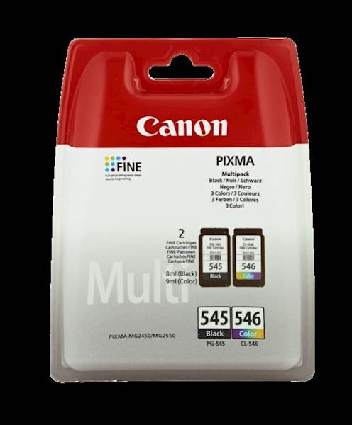 KOMPLET CANON PG-545 / CL-546 ZA MG2450/2550