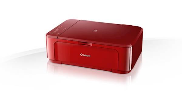 Večfunkcijska brizgalna naprava CANON Pixma MG3650 rdeč
