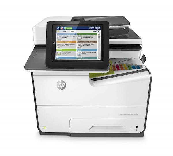 Večfunkcijska brizgalna naprava HP PageWide Enterprise Color MFP 586dn