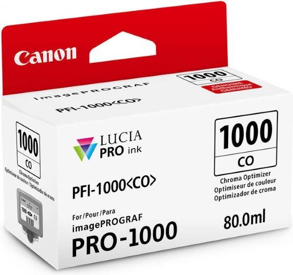 ČRNILO CANON PFI-1000 CHROMA OPTIMIZER ZA IMAGEPROGRAF PRO-1000, 80 ml