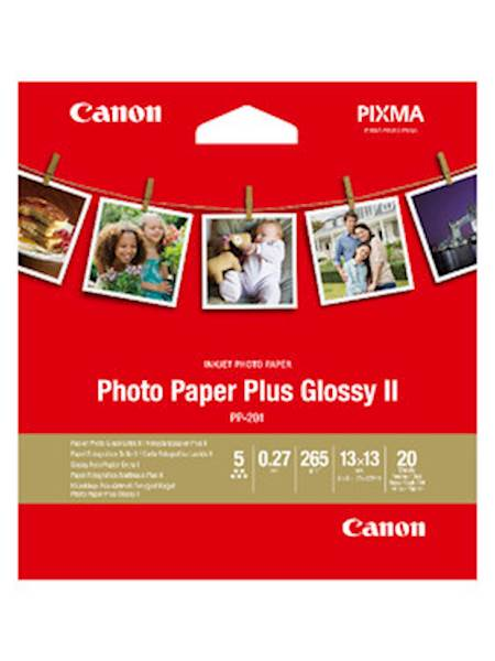 Papir CANON PP-201 SQUARE (13x13 cm); high gloss / 265 gsm / 20 listov