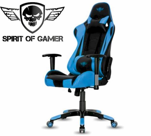 Gaming stol -  Spirit of gamer - DEMON BLUE