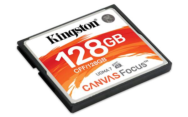 CF Kingston 128GB Canvas Focus, 150/130 MB/s, UDMA7, za DSLR kamere