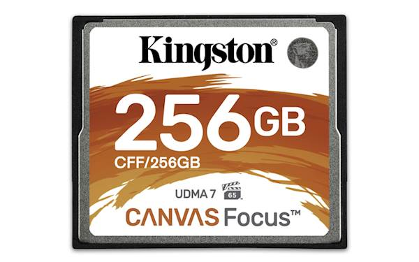 CF Kingston 256GB Canvas Focus, 150/130 MB/s, UDMA7, za DSLR kamere