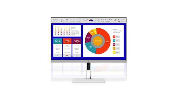Monitor HP EliteDisplay E243p 60,45cm (23,8'') FHD IPS 16:9, SureView