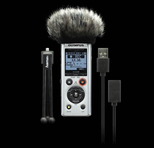 Diktafon OLYMPUS LS-P1 Podcaster KIT