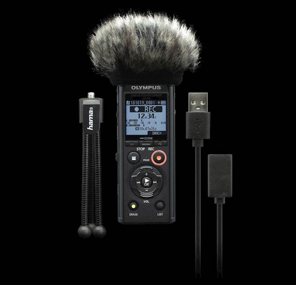 Diktafon OLYMPUS LS-P4 Podcaster KIT