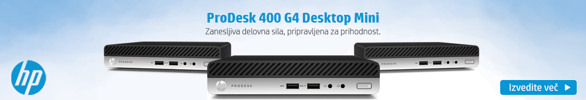 HP - Pro Desk desktop mini