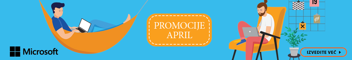 Microsoft - Promocija april